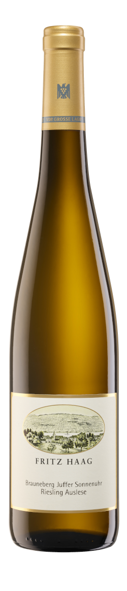 xx09 Brauneberger Juffer Sonnenuhr Riesling Auslese Goldkapsel 750ml